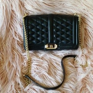 Rebecca Minkoff quilted leather crossbody
